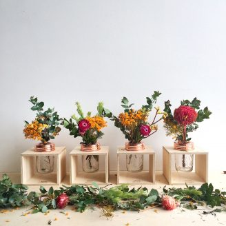 Flower Box Table Setting
