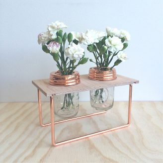 Flower Frame in Copper