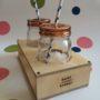 Large Cocktail Jars and Mason Jar Stand