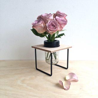 Flower Frame in Black