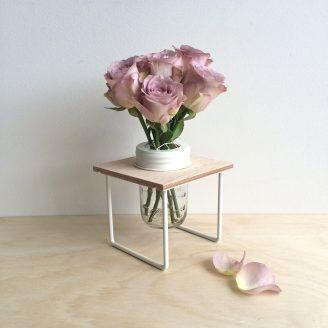 Flower Frame in Cream