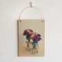 A print of our Blue Flower Jar