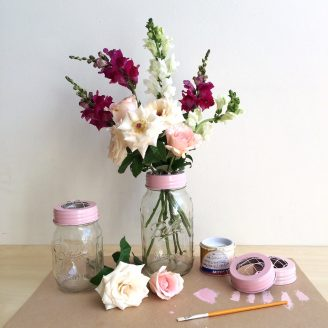 DIY Flower Lids