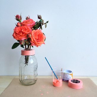 DIY Flower Arranging Lid Set