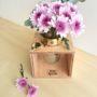 Flower Box with Brass Heart