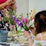 Flower Arranging Workshop with Rainy Sunday