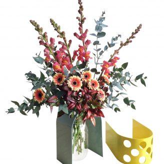 Flower Vase From Rainy Sunday