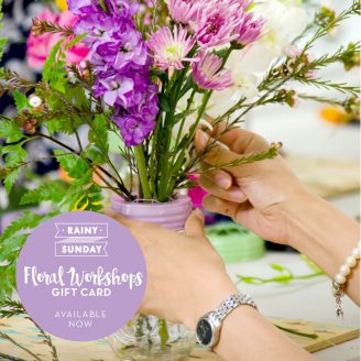 Floral Workshop Gift Card