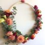 Floral Hoop by Rainy Sunday