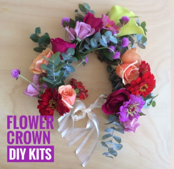 Flower Crown DIY Kit by Rainy Sunday