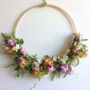 Giant Hanging Flower Wreath