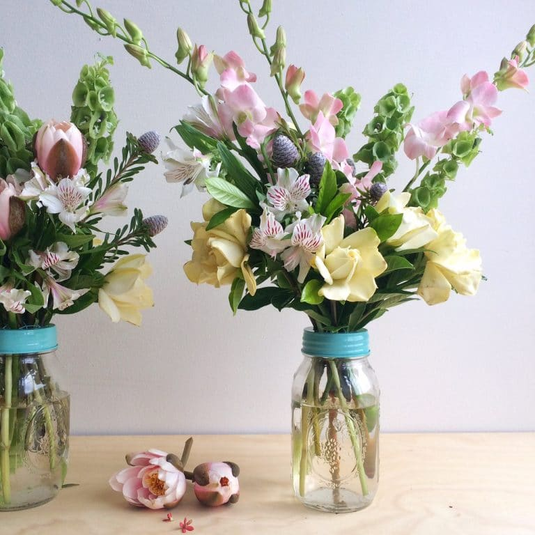 Flower Jars and Vase Arrangements