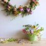 Flower Wreath by Rainy Sunday