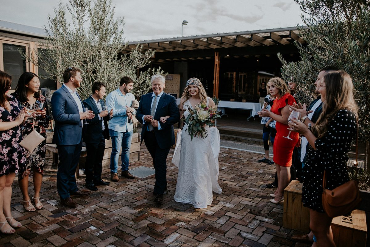 A rustic wedding at Camerdown Commons in Sydney