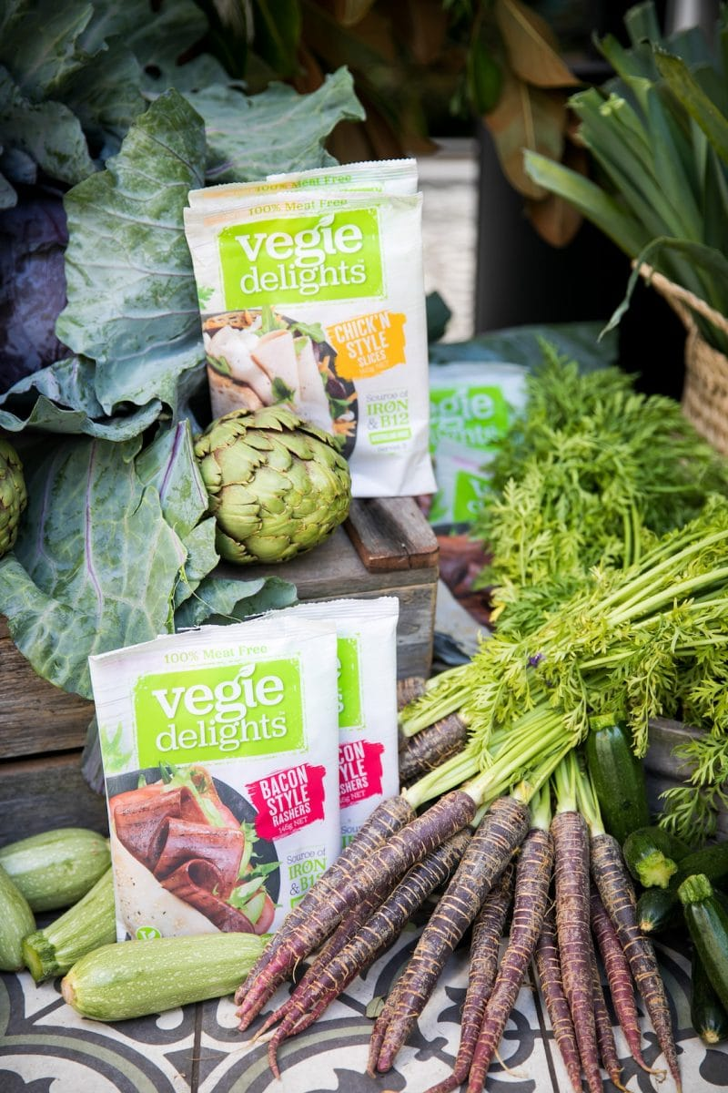 Vegan product styling for World Vegan Day at La Porte Space in Sydne