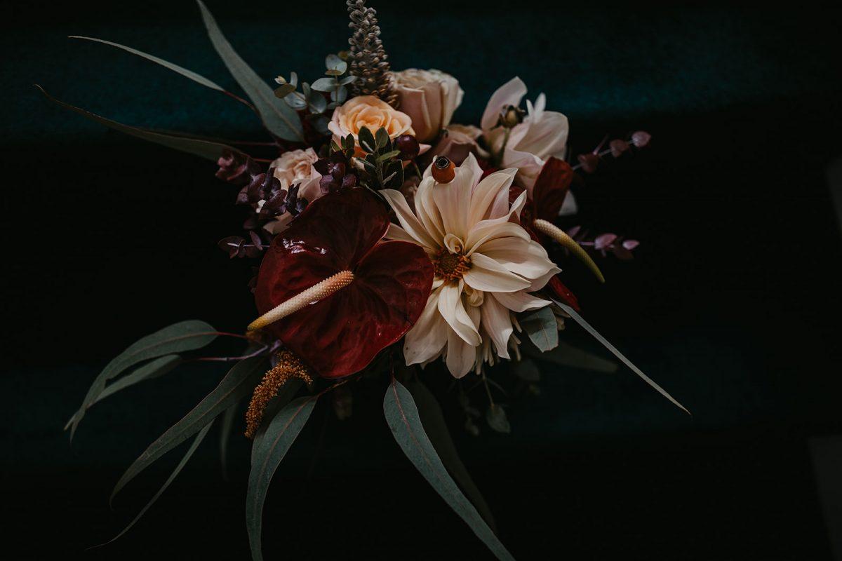 Boho bridal bouquet at Camperdown Commons Sydney