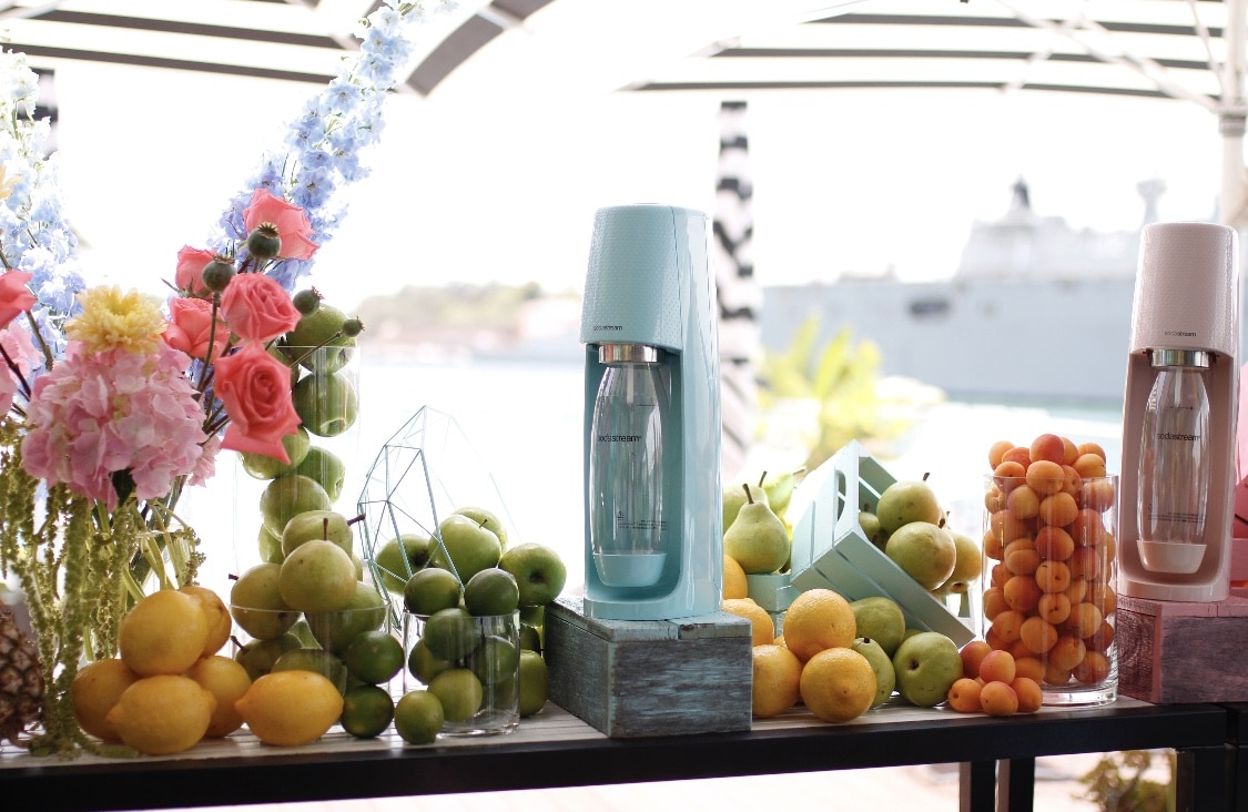 Sodastream Pastel Launch Event by Rainy Sunday at Poolside Cafe Sydney