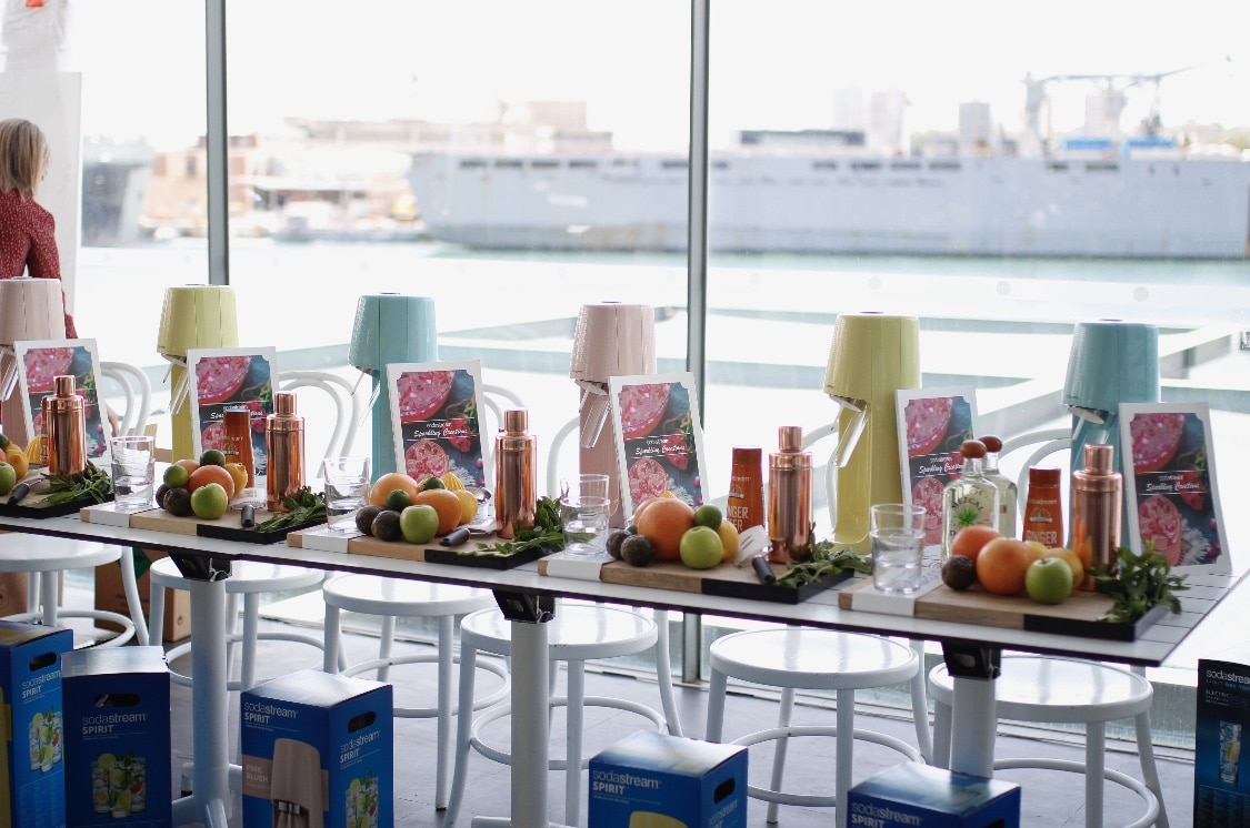 Event design and styling at Poolside Cafe in Sydney