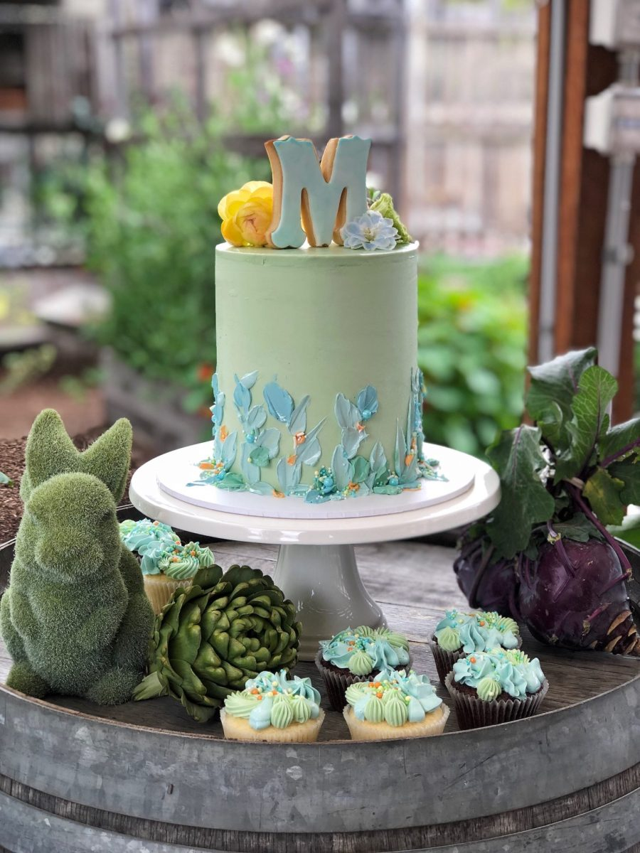 Peter rabbit birthday cake at Camperdown Commons in Sydney