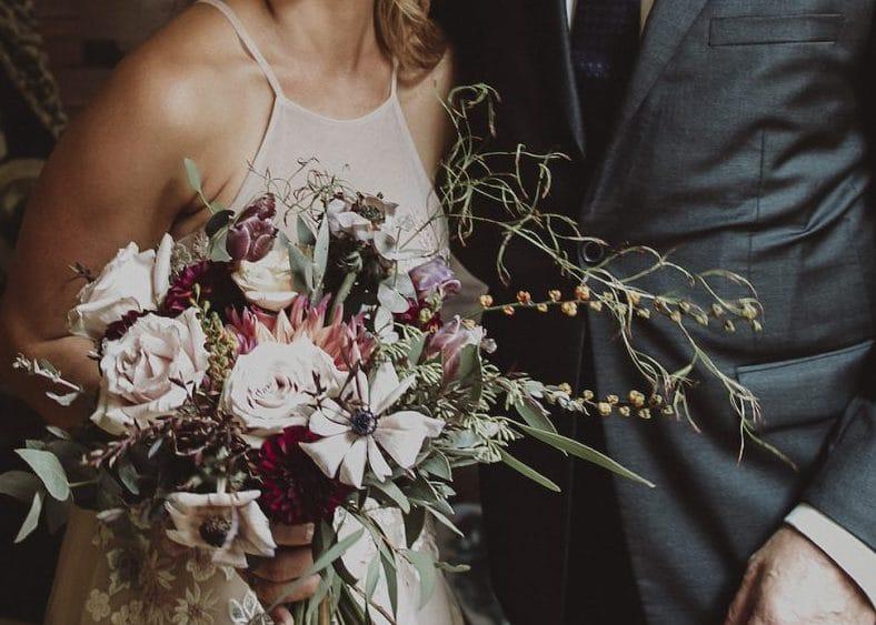 Whimsical wedding bouquet by Rainy Sunday for a romantic modern wedding in Sydney