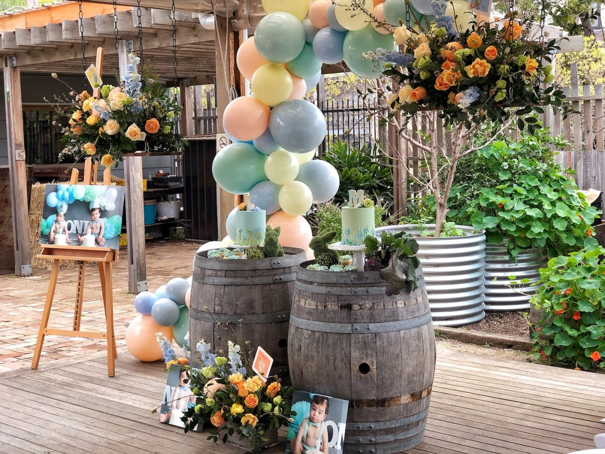 Childrens styled birthday party by Sydney stylist Rainy Sunday