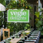Outdoor event styling at La Porte Space in Sydney