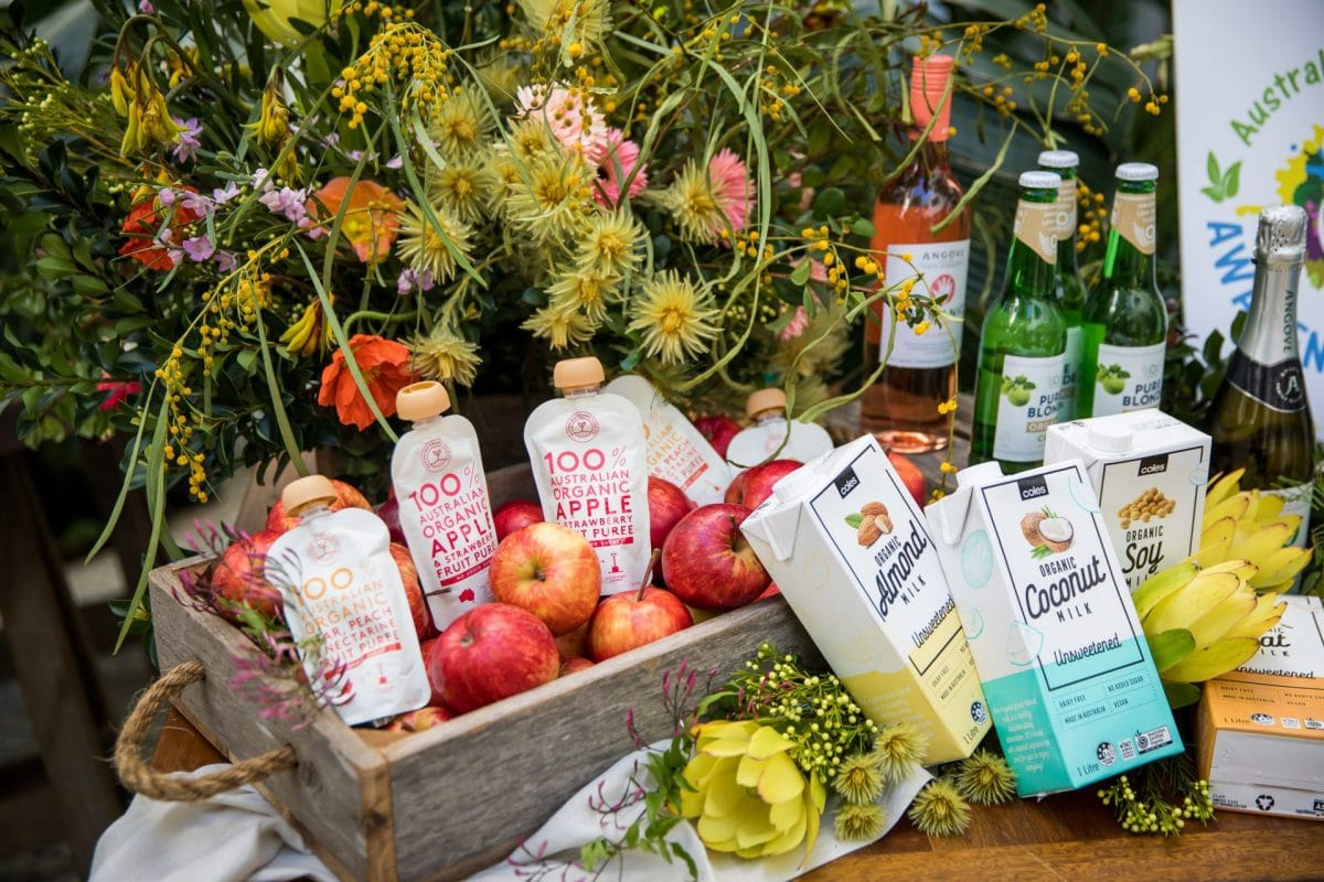 Product event styling for Australian Organic by Rainy Sunday