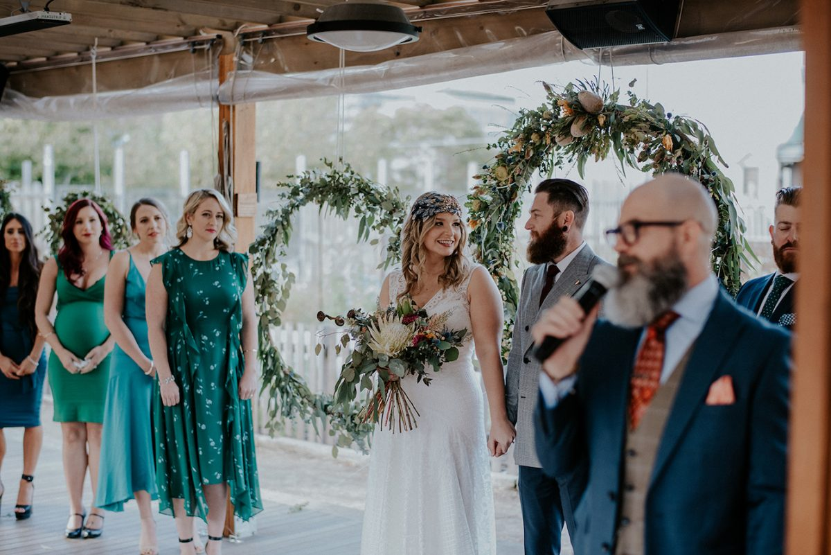 A Sydney rustic wedding styled by Rainy Sunday