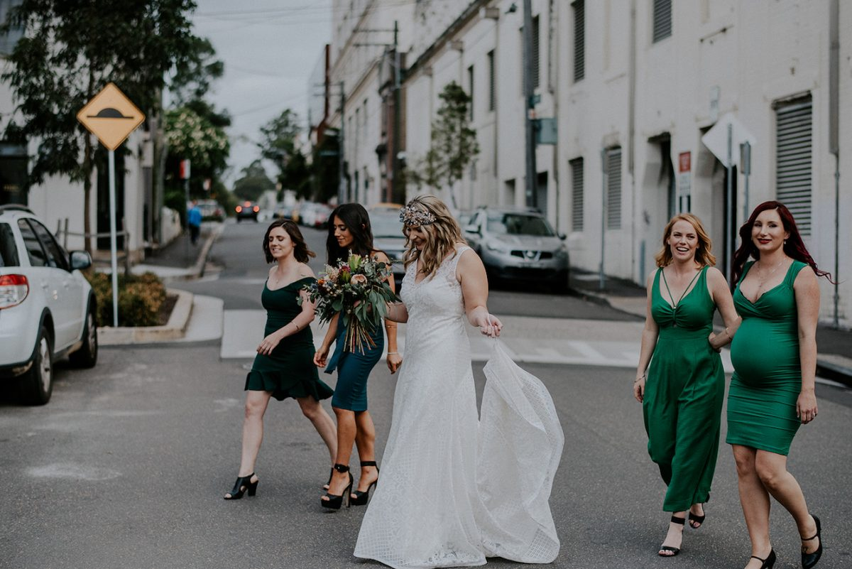 Sydney inner west wedding at Camperdown Commons