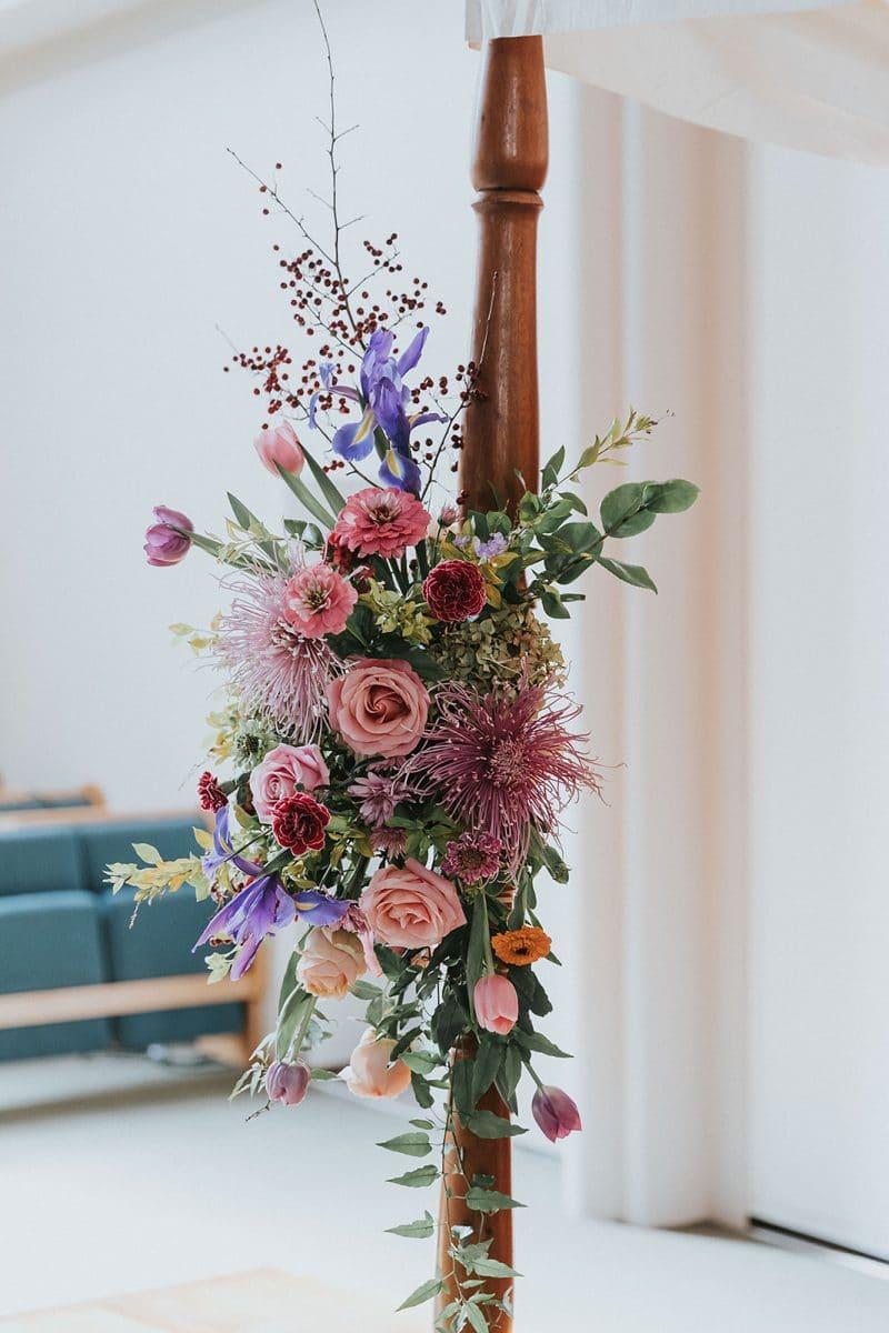 Chuppah Wedding Flowers by Rainy Sunday