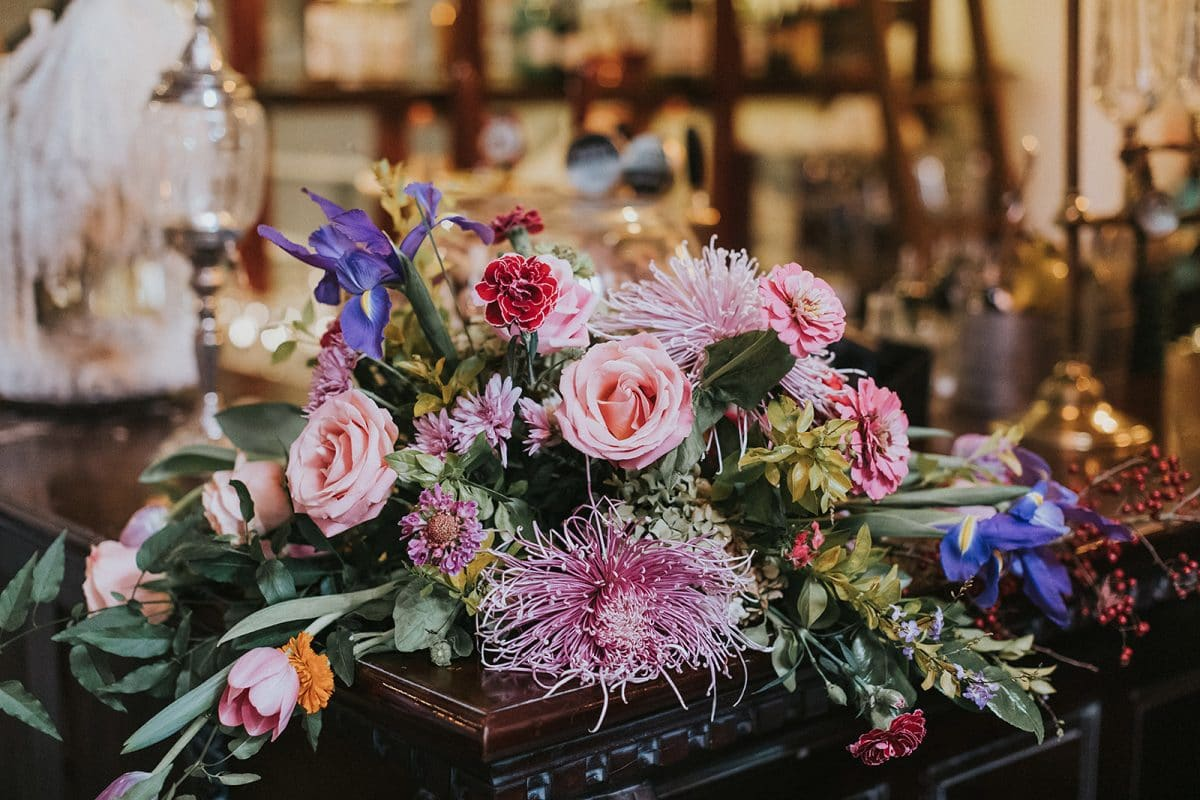 Wedding Flowers at Gavroche in Sydney