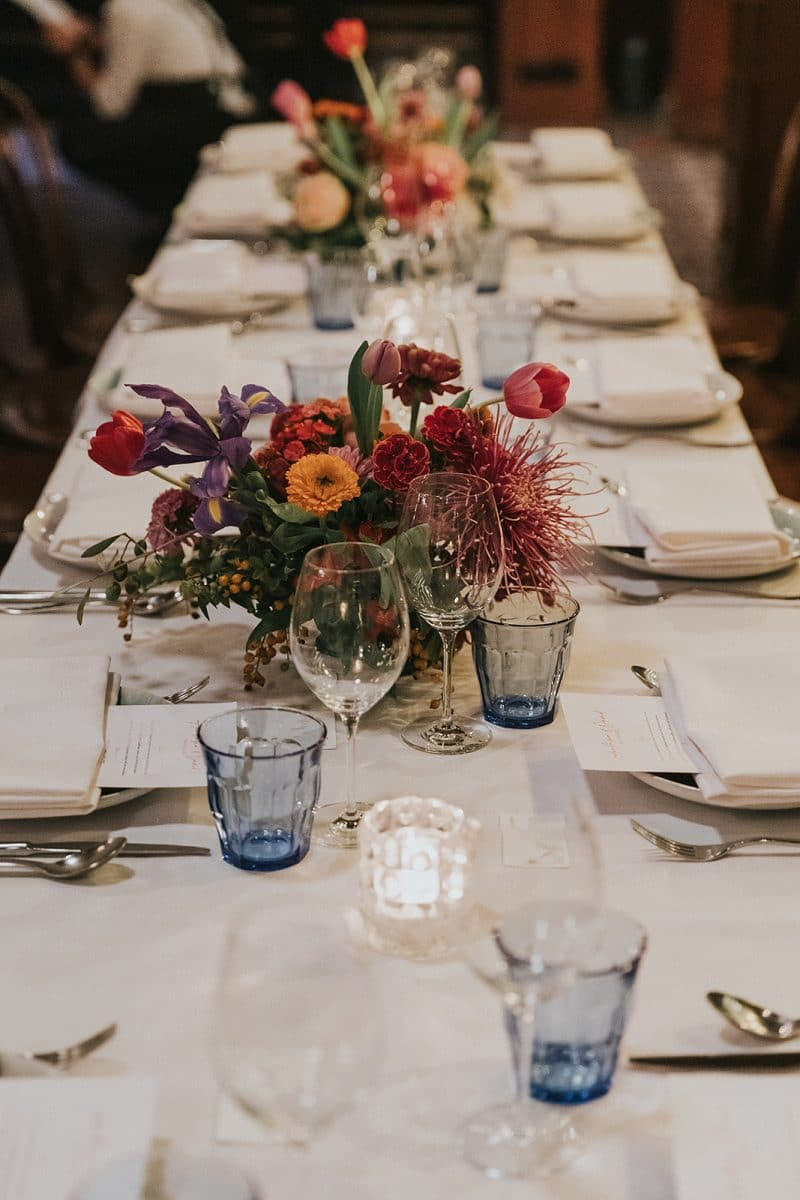 Wedding reception at Gavroche in Chippendale