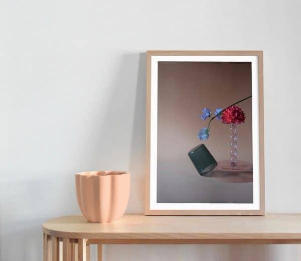 Sweet Pea Flower Art Print