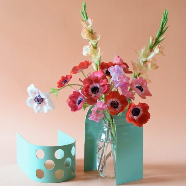 Flower Vase by Rainy Sunday